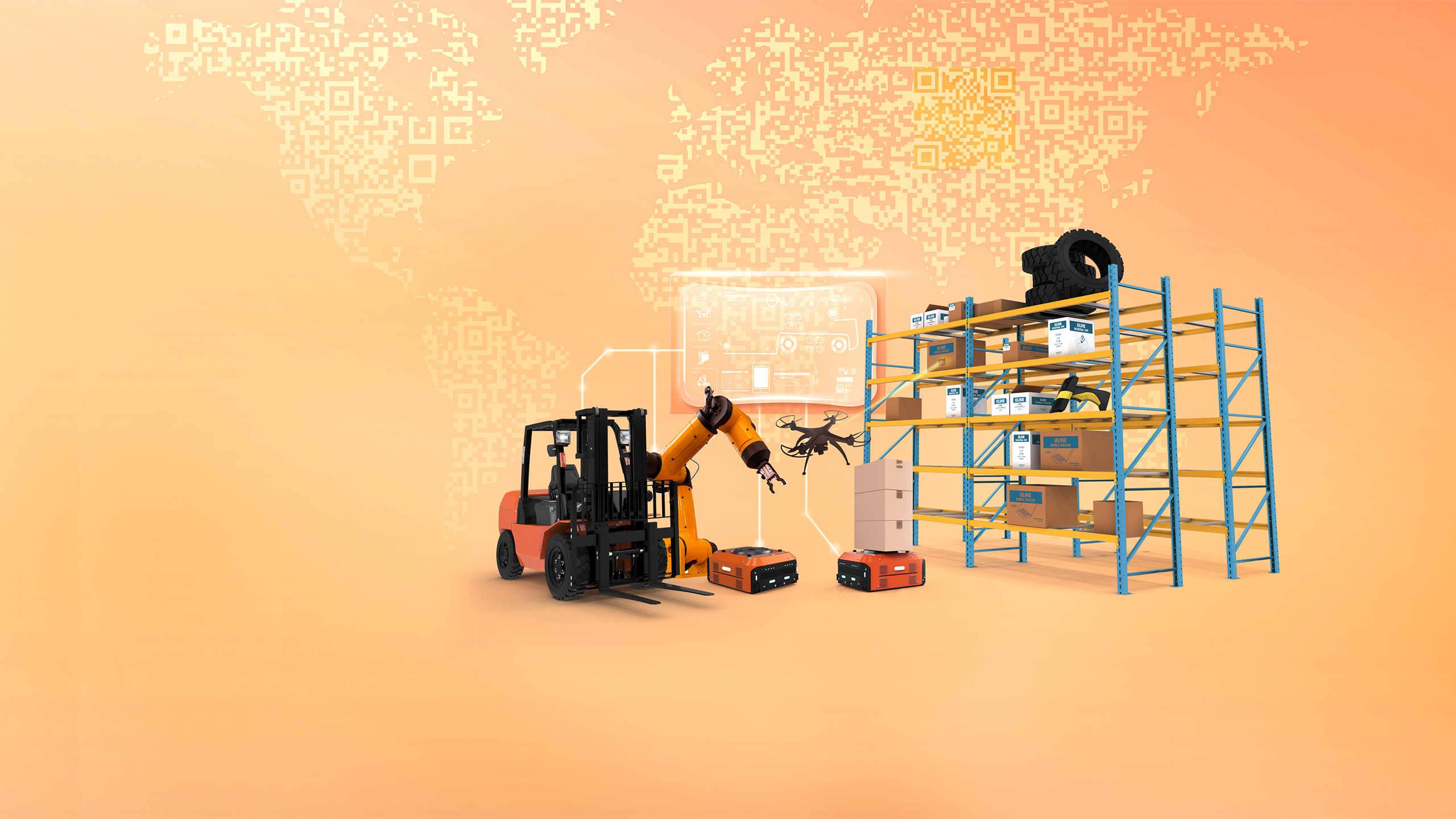 Materials Handling Middle East - Key Visual