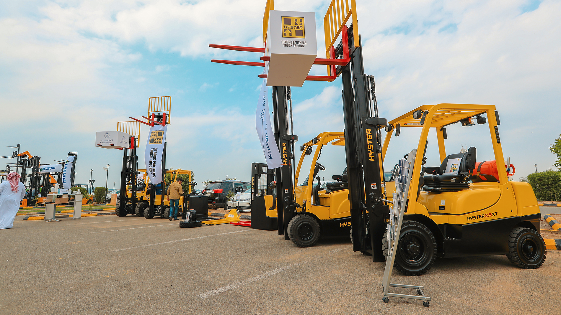 Materials Handling Saudi Arabia - Products